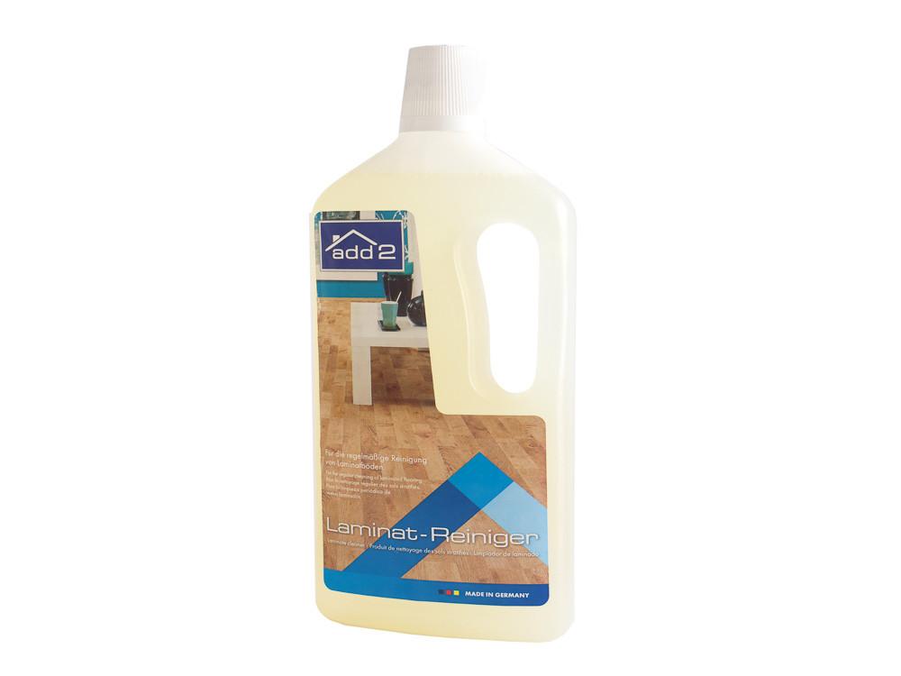 Препарат за почистване и поддържка на ламинирани подови настилки. Премахва замърсявания, петна и лошите миризми.
