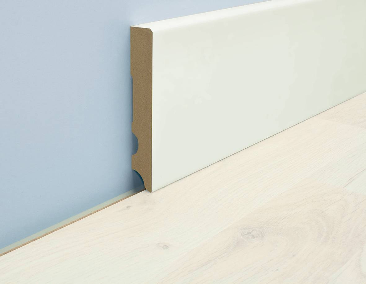 9002 MDF Skirting Board, square cut, 100 mm