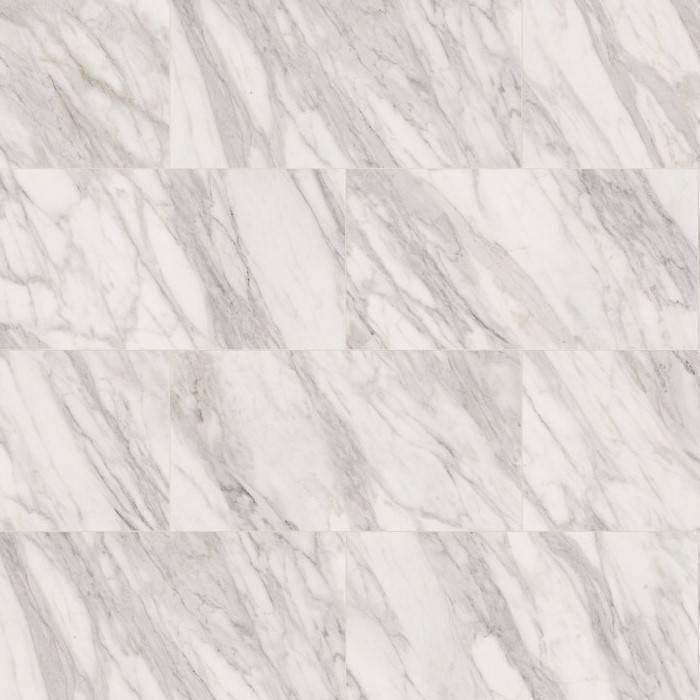 Venato e ламинат с декор на бял мрамор със силно изразени сиви жилки, матова текстура и антибактериална защита.