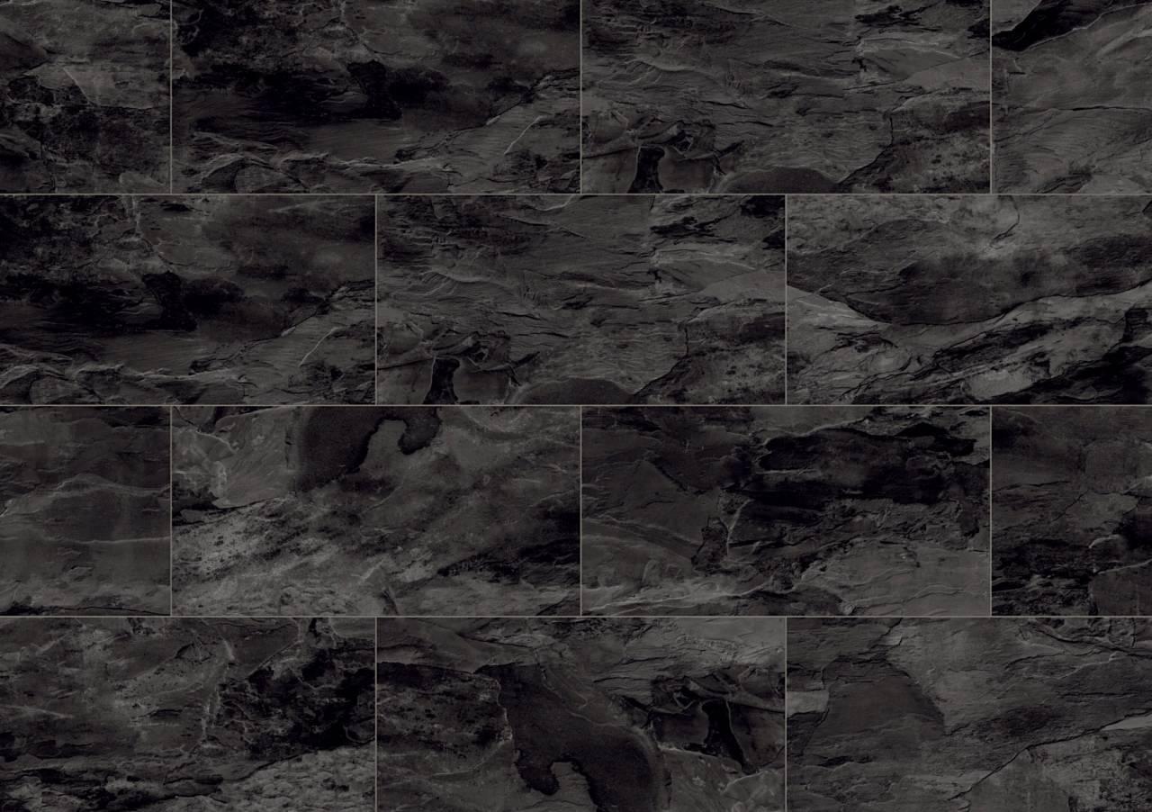 Ламиниран паркет Krono Original® Impressions, който впечатление с репродукции на камък и имитиращата гранитогрес ламела