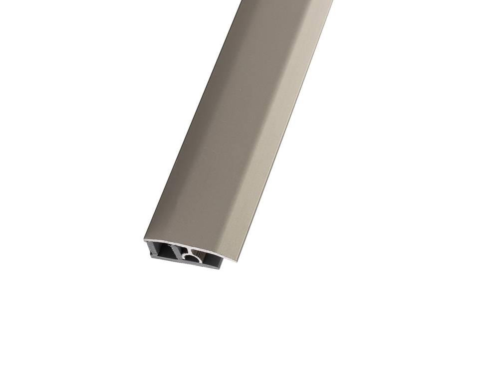 Преходната лайстна на немския бранд Add2® свързва паркет или ламинирана подова настилка с еднаква височина.