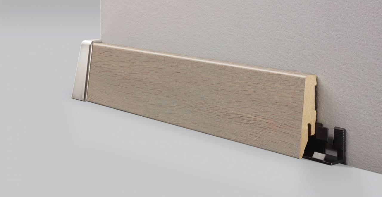 Перваз L004 отличен в съчетание с декора от колекцията MyStyle® - K227 Bandito Oak.