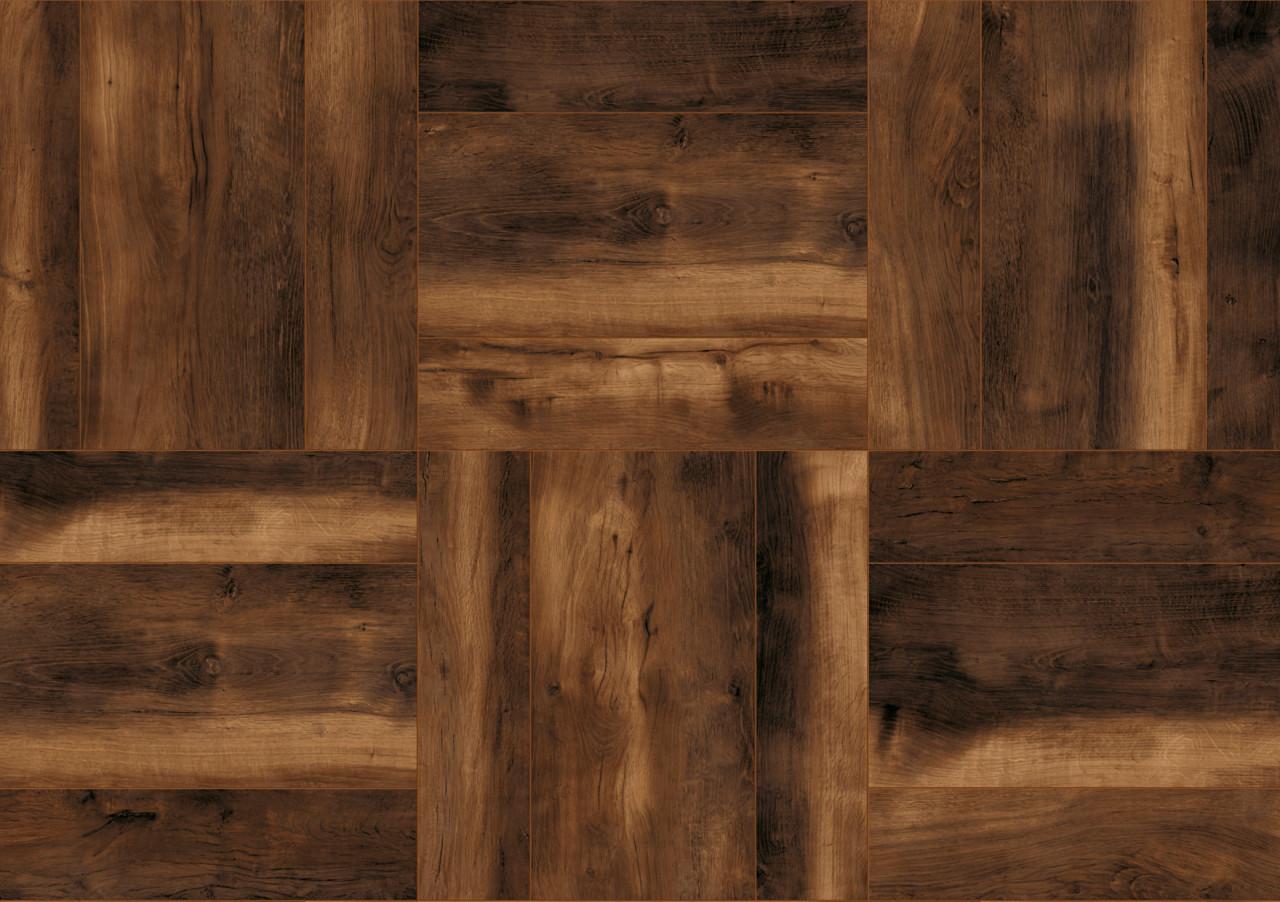 Ламинат K411 Laguna Oak с безбройни възможности за полагане и подредба, благодарение на пропорцията на дъската 1:4