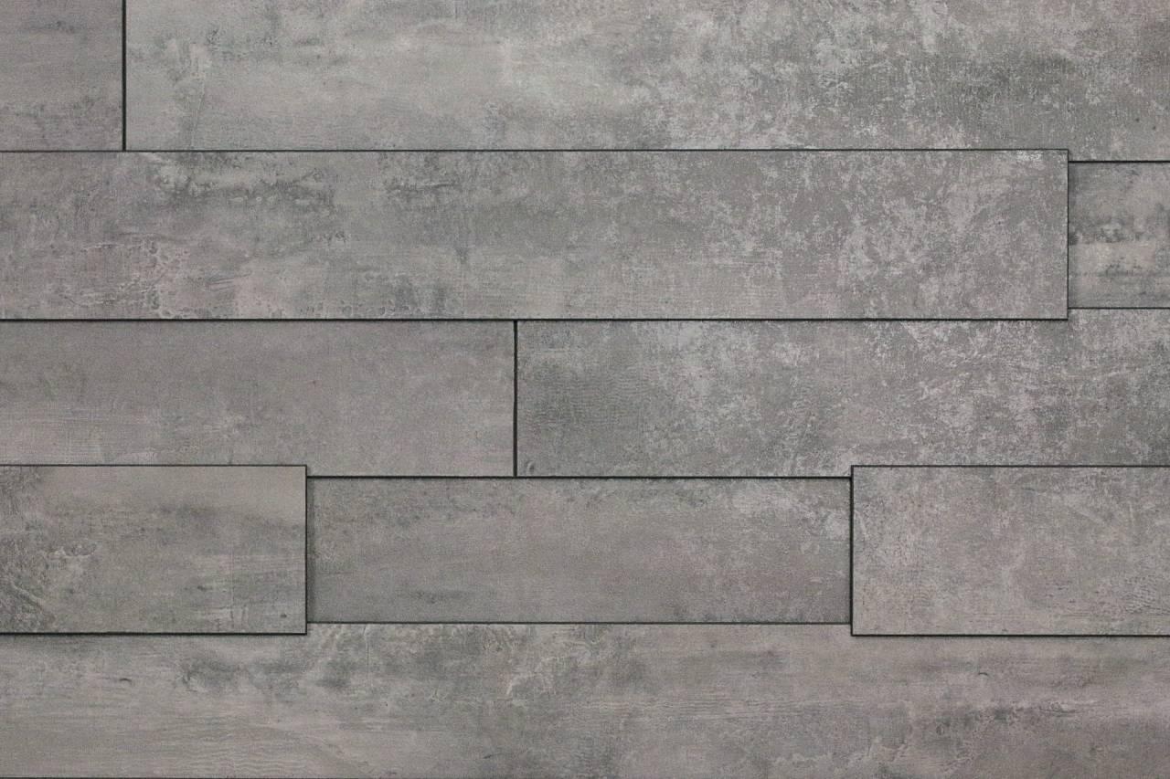 K035 е сив хамелеонов ламинат, със светли и тъмни акценти, напомнящ на бетон, носещ солидно и индустриално усещане.